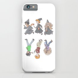 the beginning and the end iPhone Case