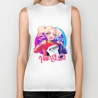 harley Biker Tanks featuring HARLEY by Miaolait