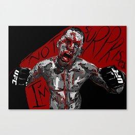 "Nate Diaz ""I'm not surprised!"" Canvas Print"