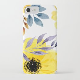 FLOWERS WATERCOLOR 10 iPhone Case