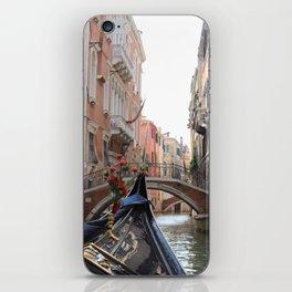 Italy Venice Gondola iPhone Skin