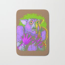 Death Is The Answer, For The Question Is I! Bath Mat