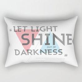 2 CORINTHIANS 4:5-6 Rectangular Pillow