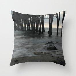 Mystic Pier Throw Pillow