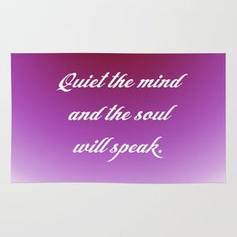 Quiet the Mind Rug