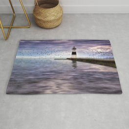 The Light on the Pier Rug