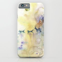 Moony, Wormtail, Paddfoot, and Prongs iPhone Case