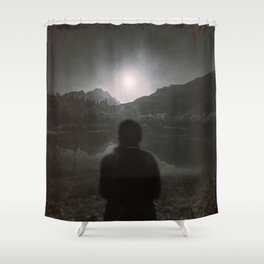Hypnotized by the Moon II Shower Curtain
