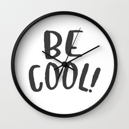 BE COOL Wall Clock