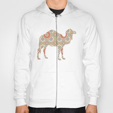 CAMEL SILHOUETTE WITH PATTERN Hoody
