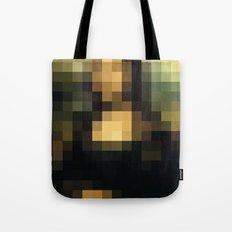 PIXELEON-Monalisa Tote Bag