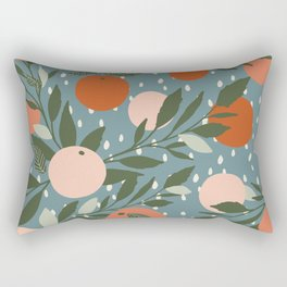 Indy Bloom Tangerine Rain Rectangular Pillow