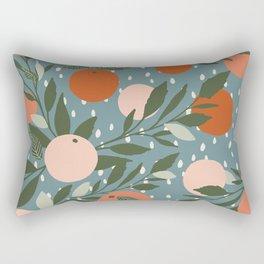 Indy Bloom Tangerine Rain Rectangular Pillow