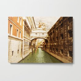 Giant Kitten in Venice (1) Metal Print