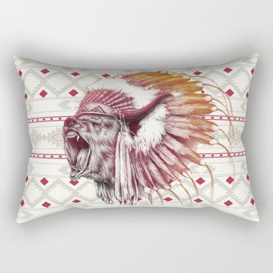 Chief Bear Rectangular Pillow