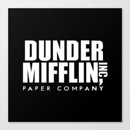 The Office Dunder Miflin Canvas Print