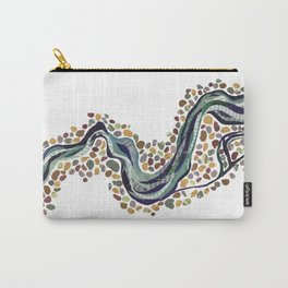 Meander- Simple Carry-All Pouch