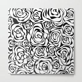 Roses all the Way Metal Print