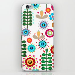 Waltz of the flowers . Retro iPhone Skin