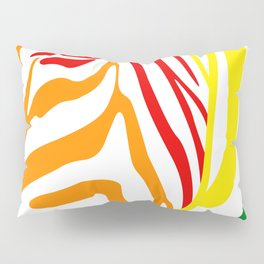 LGBT Community Zebra Portrait, Animal Photo, Large Printable Photography, Stripes Wall Art, Striped Pillow Sham
