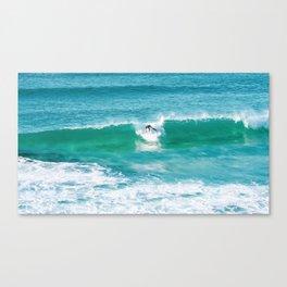 Wipeout. Bronte Beach. Sydney. Australia. Canvas Print