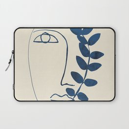 Abstract Face 5 Laptop Sleeve