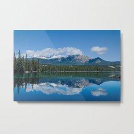 Pyramid Lake Reflections Photography Print Metal Print