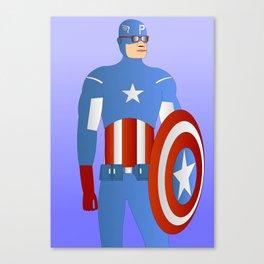 Capt. America Canvas Print