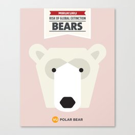 Polar Bear Canvas Print