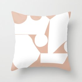 Shape study #16 - Inside Out Collection Throw Pillow
