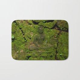 go green - moss buddha Bath Mat