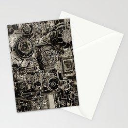 Electric Maze Stationery Cards