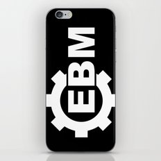 EBM BLACK iPhone & iPod Skin