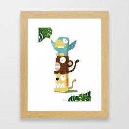 Animal Totem Framed Art Print
