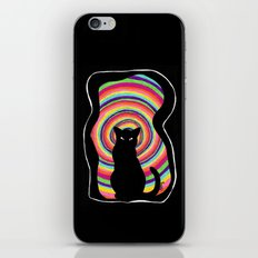 time for child stories: the BLACK CAT iPhone & iPod Skin