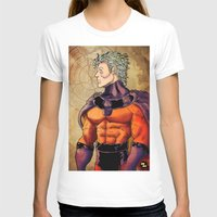 magneto T-shirts featuring magneto by Brian Hollins art