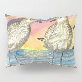 Pacific Golden Plovers Pillow Sham