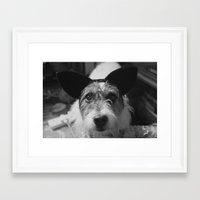 jack russell Framed Art Prints featuring Jack Russell by Arianne Kenworthy Photography