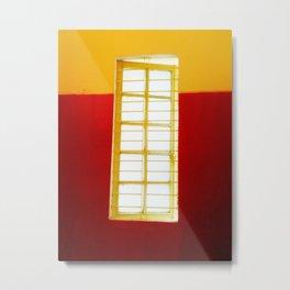 Window Long Metal Print