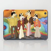 submarine iPad Cases featuring Unicorn Submarine by That's So Unicorny