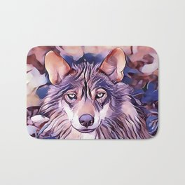 The Iberian Wolf Bath Mat