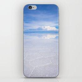 Salar de Uyuni desert, Bolivia iPhone Skin