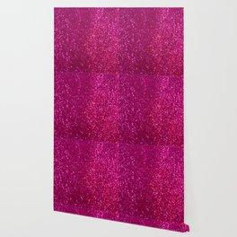 Glamours Fuchsia Glitter Wallpaper