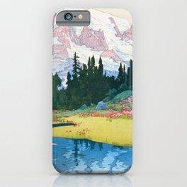 Yoshida Hiroshi - Mt.rainier - Digital Remastered Edition iPhone Case