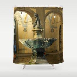The Fountain - Prato - Tuscany Shower Curtain