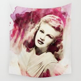 Ginger Rogers Wall Tapestry