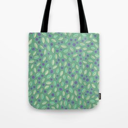 Dreaming of Blueberries Tote Bag