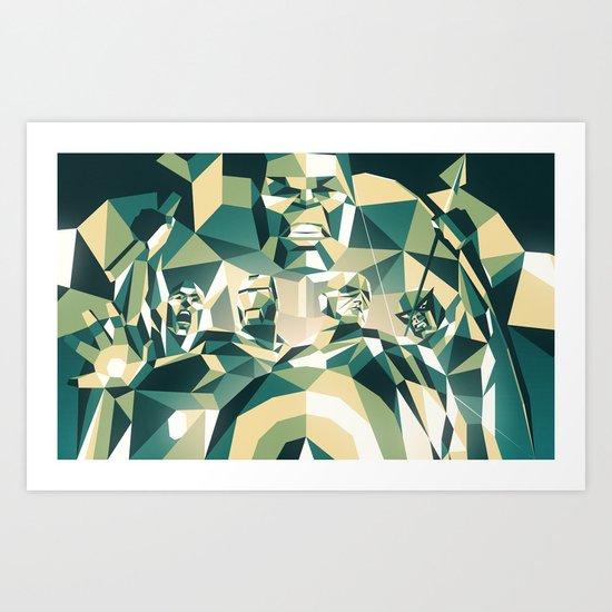 A Team Art Print