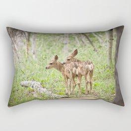 Seeing Double Rectangular Pillow
