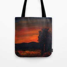 Fireflies at the Pond Tote Bag